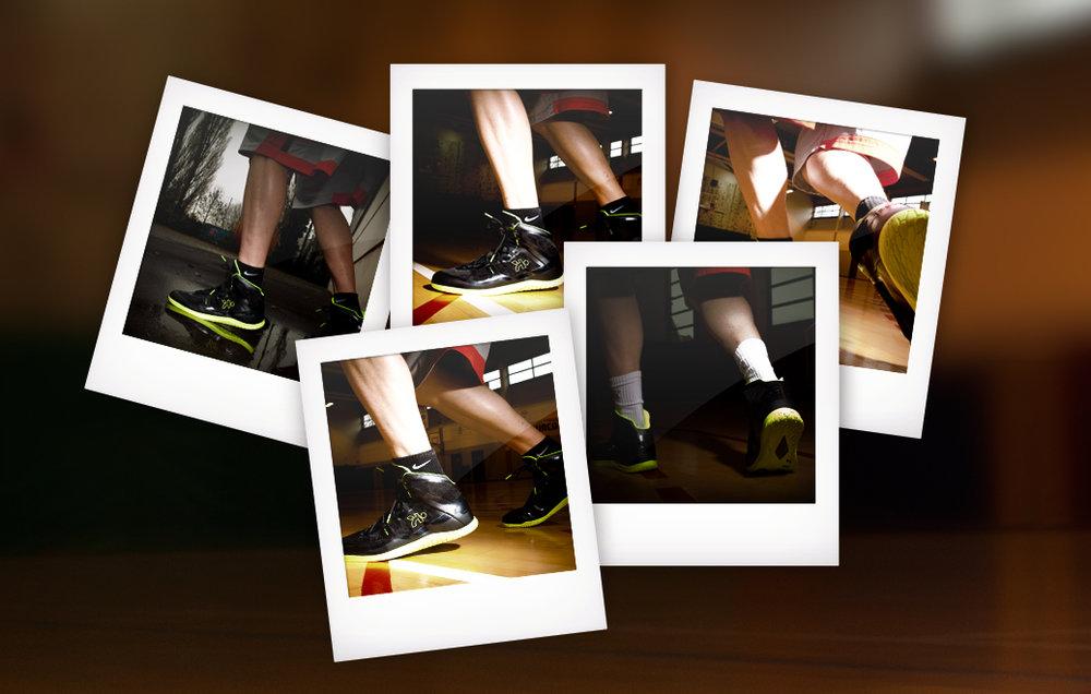 shooting photos -