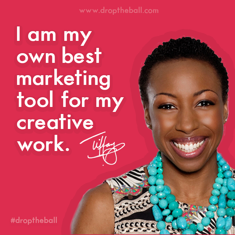 Tiffany Dufu #blkcreatives Drop The Ball