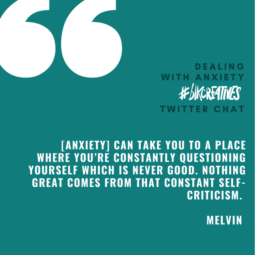 Melvin Taylor blkcreatives Twitter Chat 1