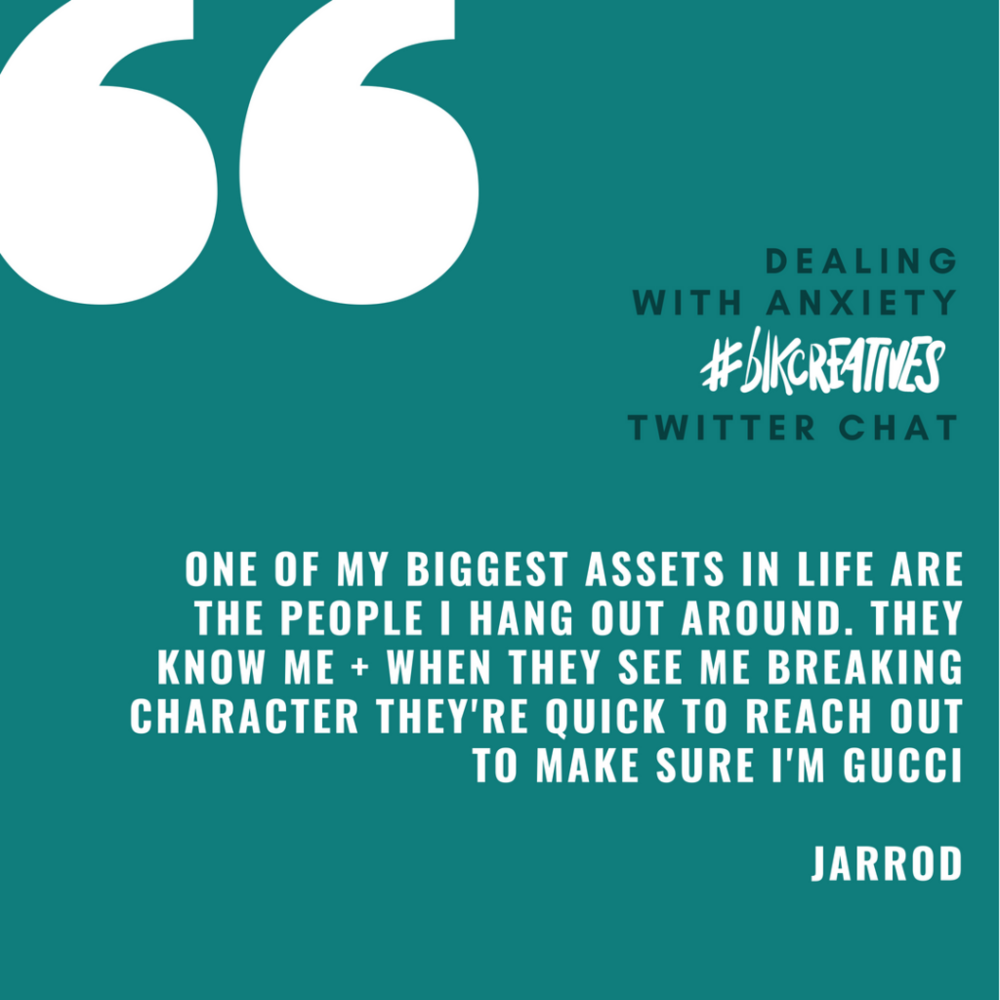 Jarrod Anderson #blkcreatives chat 1