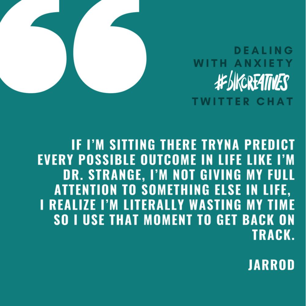 Jarrod Anderson #blkcreatives chat 3