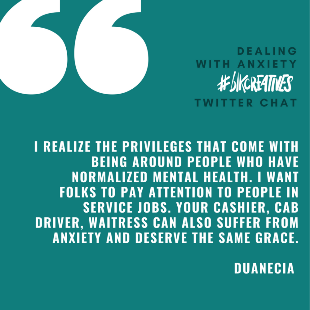Duanecia Evans blkcreatives chat 1