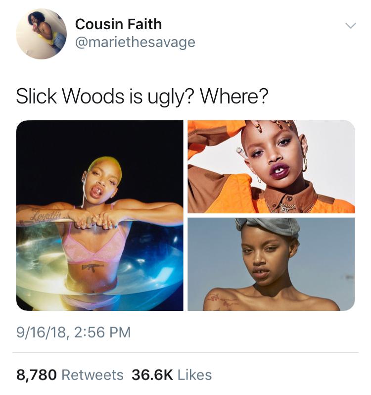 Slick Woods Rihanna Fenty Beauty 1