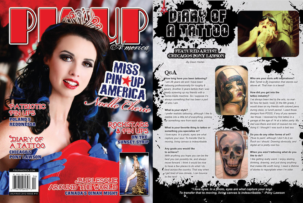 Pin Up America Magazine