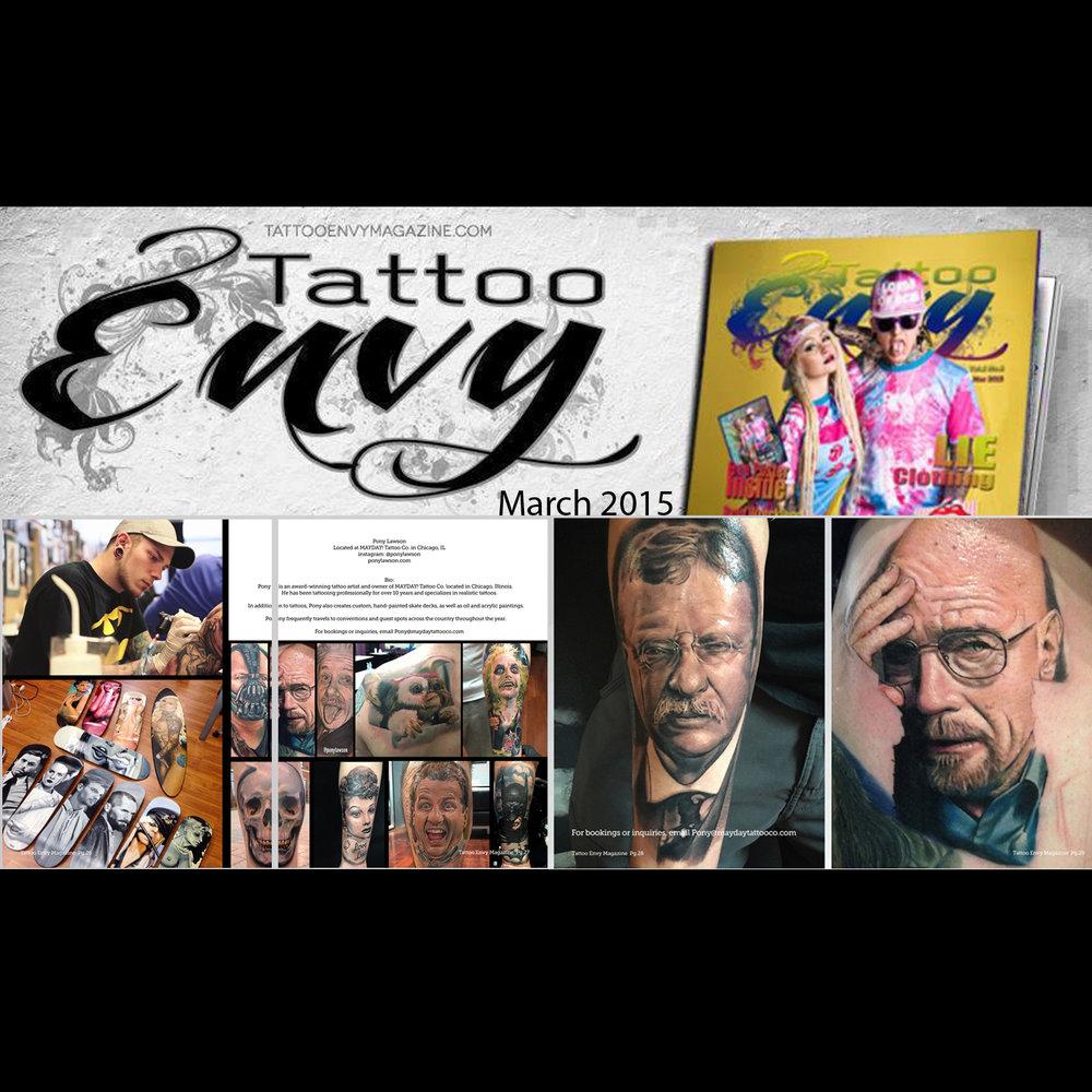 Tattoo Envy Magazine
