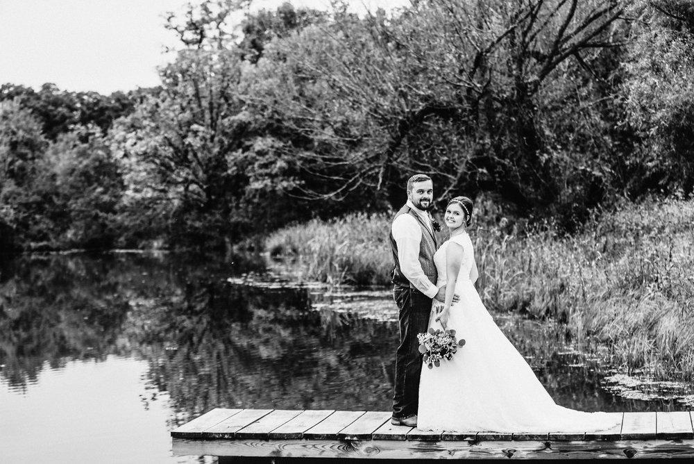 Emily and Jashobeam \\ Oregon Illinois Wedding