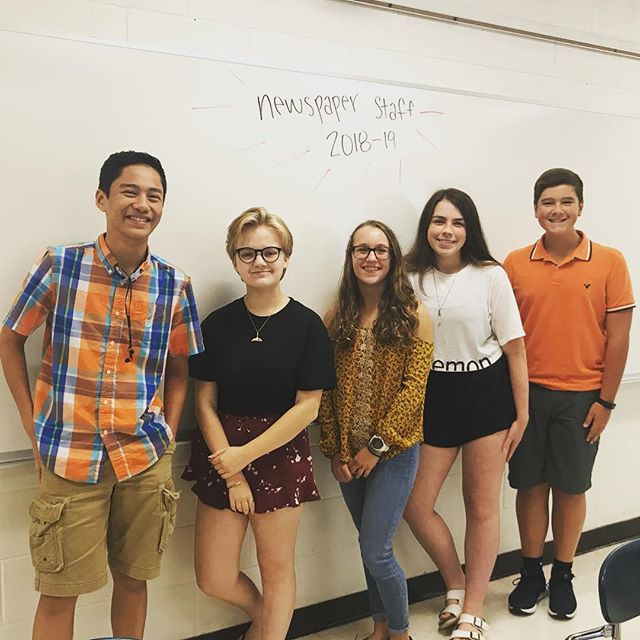The writers are back at it again—working hard to create the September issue!! ... ... ... From poems to cartoons we have it all in our newspaper!! Have anything you'd like to share with us? DM or contact our staff. Link in bio. #cougarnationnews #writersatwork #backatschool #whatswork #backatitagain