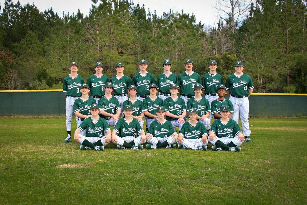 2019 JV/Varsity Baseball Team