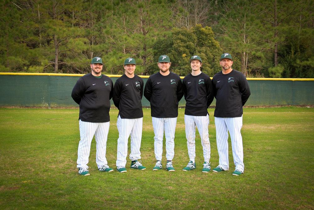 Jacob Mann, Josh Newell, Brett Christensen(Head Coach), Tyler Carroll, Danny Shupe