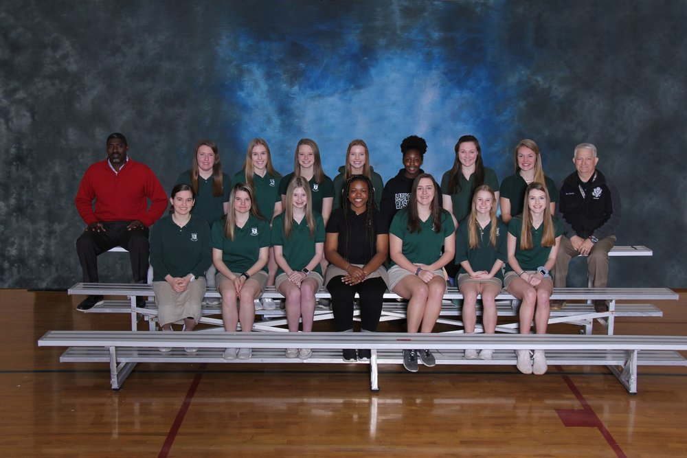 2019 Varsity Girls Track Team