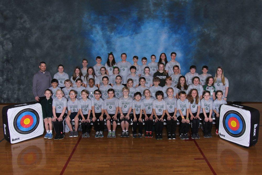 2019 4th-6th Grade Archery Team