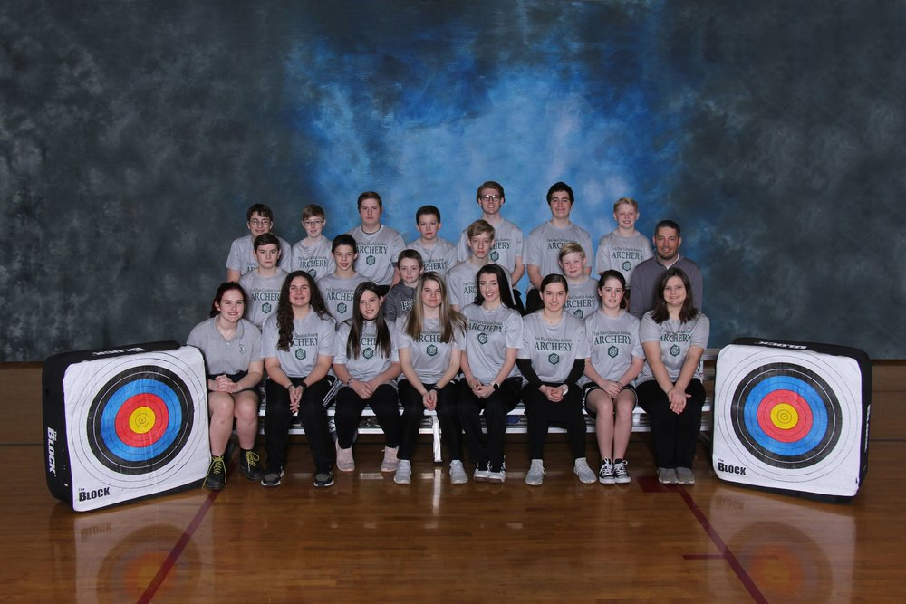 2019 7th-12th Grade Archery Team