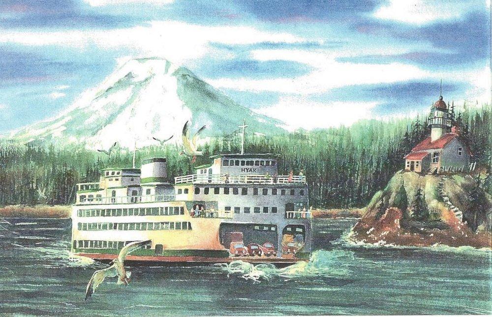 Hyak and Mt. Rainier