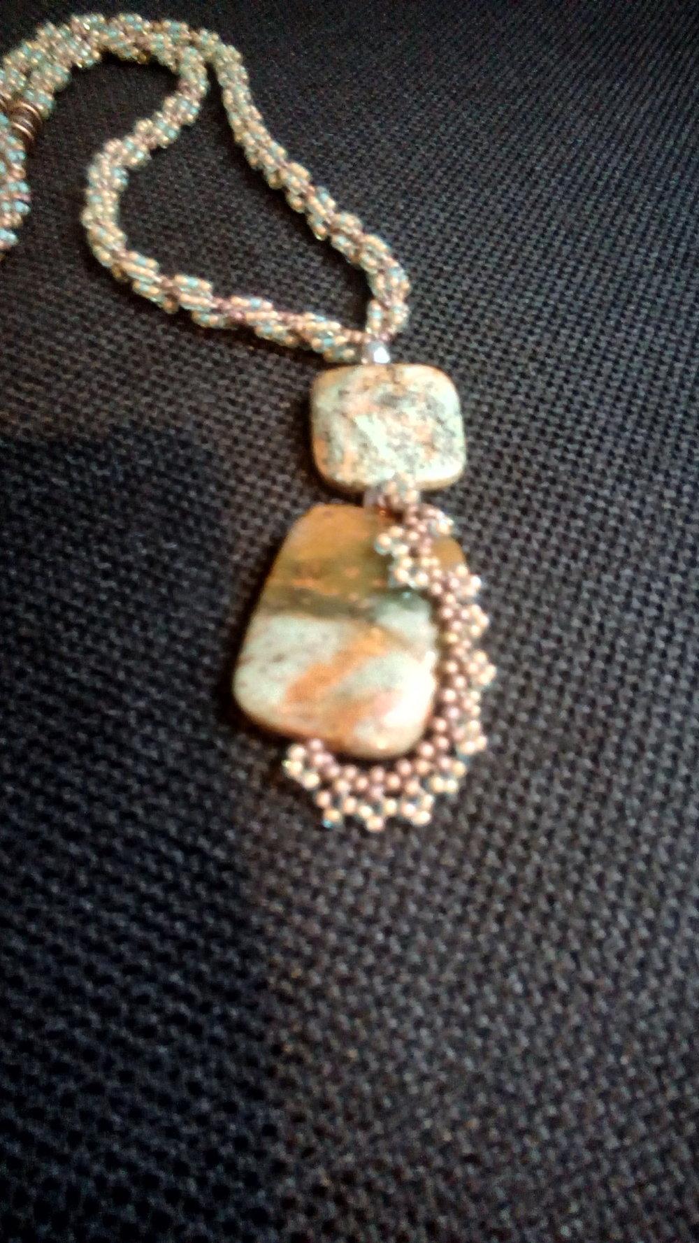 Mystic Jasper Pendant
