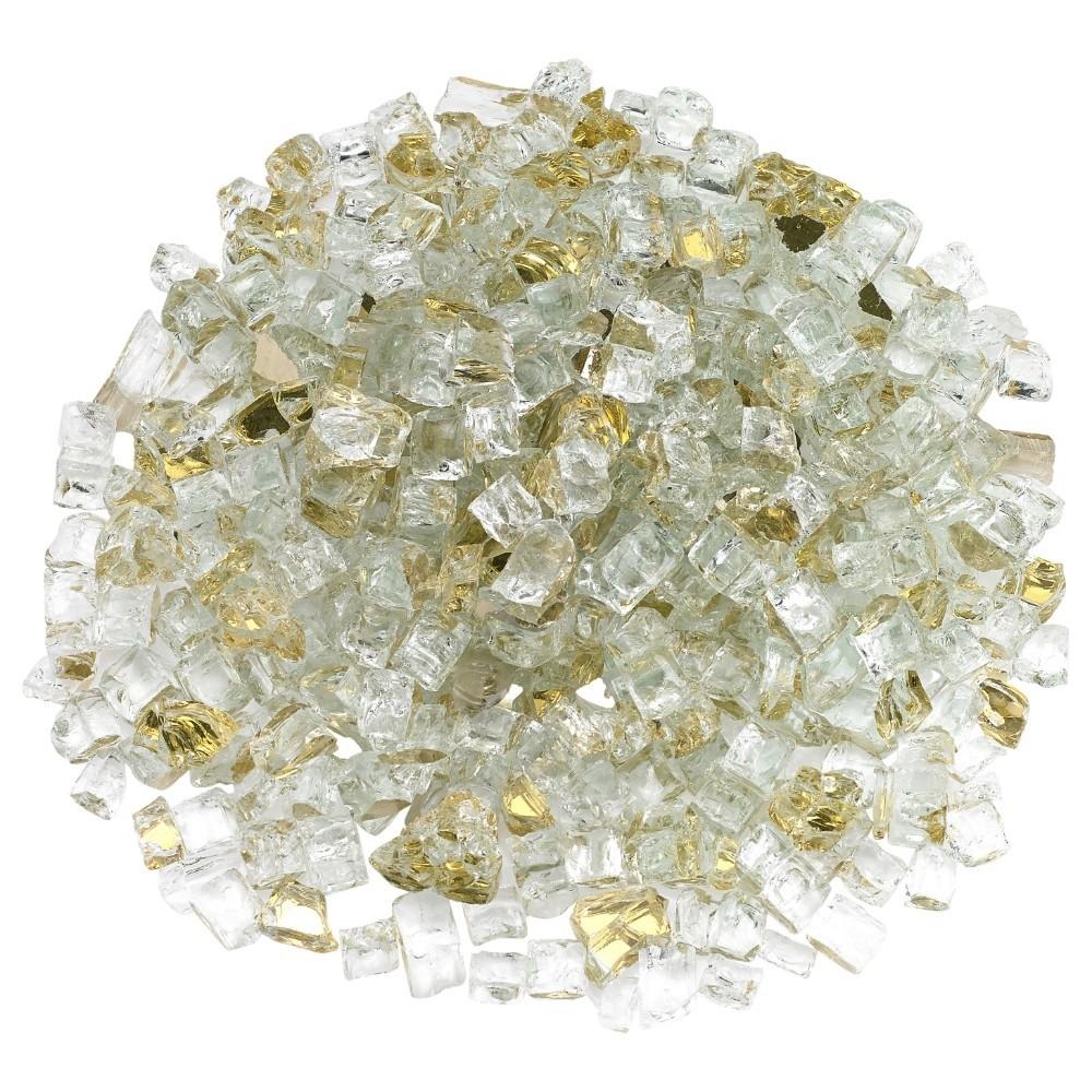 Gold Reflective Fireglass