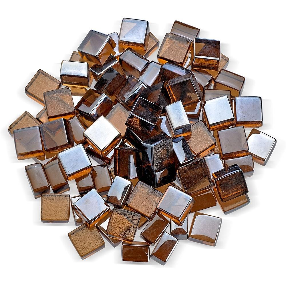 Copper Luster Fireglass