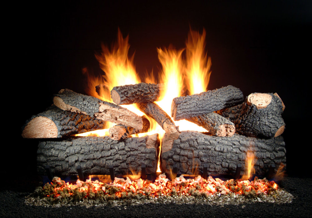 Our logs come in sizes up to 36 inches.