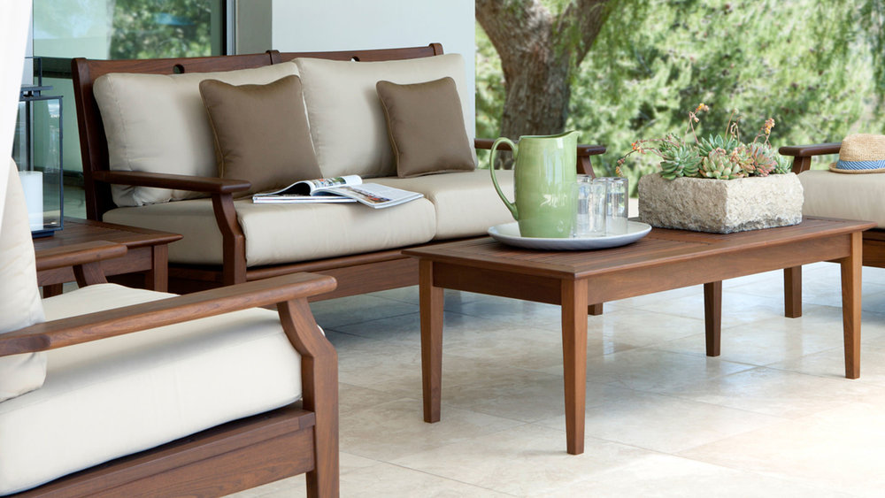 Opal lounge group, opal loveseat, opal coffee table, opal end table and opal lounge chair