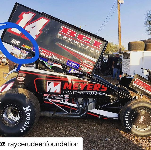 "Seeing @kaseykahne at Trophy Cup this weekend reminded us of one of Rayce's grandpa's favorite stories. Thank you to all the drivers that sported a Rayce Rudeen Foundation sticker this weekend. #Repost @raycerudeenfoundation with @get_repost ・・・ Congratulations to @rudeenracing and @williec29 for a successful weekend at Trophy Cup! More importantly, thank you to those who came out to support @makeawishamerica.  We were very grateful for the opportunity to put a Rayce Rudeen Foundation sticker on some of the cars at @trophy_cup. One such car was that of @kaseykahne (pictured), which reminded us of one of Rayce's grandpa Kent's favorite stories…  When Rayce was in his early teens, he attended a race with his dad and brother where Kasey Kahne was racing in the Rudeen 26 car. Despite everyone's best efforts, nothing was falling in place for the team and they did not get the results they were hoping for. As the team was wrapping up for the evening, Kevin found Rayce in the hauler with tears in his eyes. Kevin asked, ""what's wrong Bubba?"" And Rayce replied, ""Dad, we failed Kasey Kahne tonight."" At an age where most teenagers are self-centered, and in an environment where most unlucky nights are blamed on the driver, Rayce demonstrated a compassion beyond his years. He felt horrible that ""his"" team couldn't make a win possible for Kasey that night. Rayce's empathy and concern for others are traits that he demonstrated throughout his life, and we hope that his kind heart inspires you to be more sympathetic and understanding when things go wrong."
