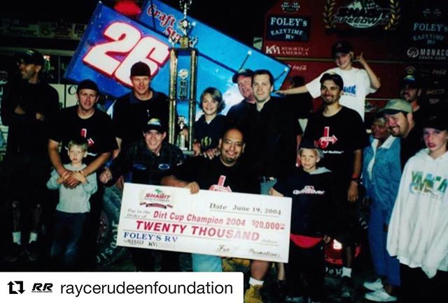 "Today is the first day of Trophy Cup! To celebrate, we wanted to share the story of Kevin's son, Rayce, first ever attempt at following in his father's footsteps. #Repost @raycerudeenfoundation with @get_repost ・・・ Today through Saturday, @rico_abreu and @rudeenracing are co-sponsoring Trophy Cup at Thunderbowl Raceway, which is benefitting Make-a-Wish Foundation. It only seems appropriate to share Rayce's racing debut..... When Rayce was 6 yrs old he had his first motorcycle mini bike race. He was showing great promise as he was running in 3rd place in a field of 15 racers when the white flag dropped. On the final lap the 1st and 2nd place riders tangled up and were off the track. From a spectators view, this was going to be a fabulous debut for Rayce! They thought he had third place, but now- as racing luck would have it- he was going to end up first! Or so we thought.....Rayce did become a champion that day- but not as you might imagine. As he rounded the corner and saw his competitor's wreckage, he pulled off the track and helped both racers back on their bikes and onto the track so they could finish the race. Trust us, this was a bit of a shock from a racing family. After the race, Kevin asked Rayce "" So why did you stop to help those racers?"" Rayce simply replied, ""Dad, they were faster than me and deserved to finish before me."" He was completely at peace with his race. Even at a very young age, Rayce trusted his heart and put others first. It became very clear to Rayce's family that indeed they had a champion on their hands. For all you racers out there...Rayce finished 6th.  Best of Luck to @makeawishamerica and also to Willie Croft and @rudeenracing!!! Pictured: Kevin Rudeen and his sons Rayce and Remy with the Rudeen Racing team."