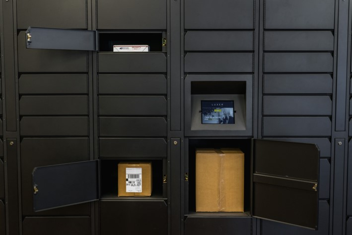 Package Lockers - Coming in 2019!