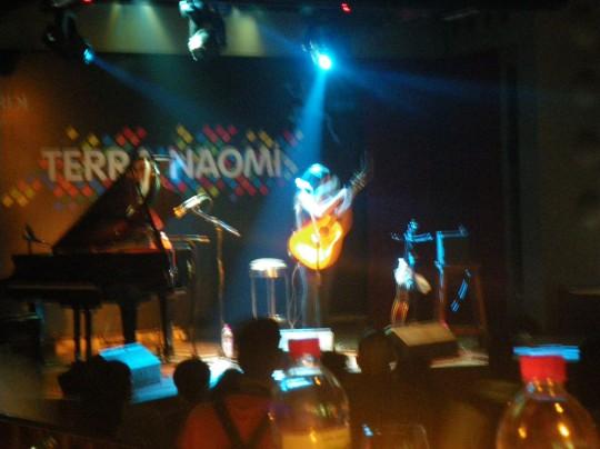 Terra Naomi - didn't sing many happy songs