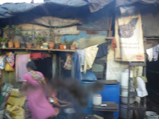 one of the nicer places of living in the slum near the port