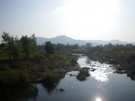 The river near the Magic Bus Camp