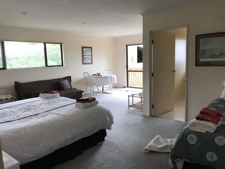 The Black-&-White corner room