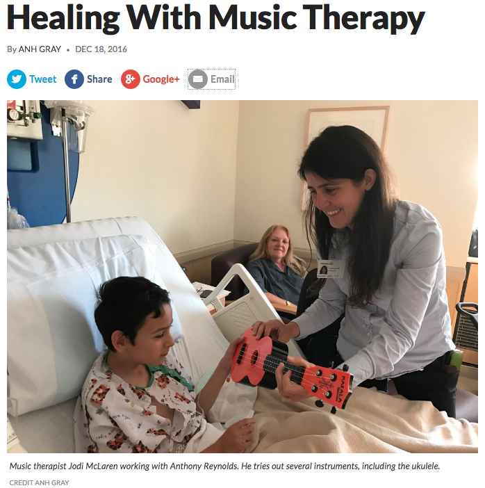 KUNR Healing With Music Therapy