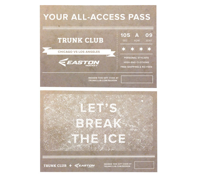 Trunk Club X Easton