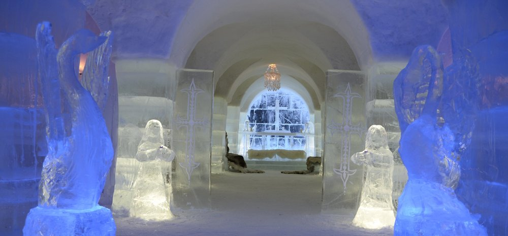 Chapel at Sorrisniva Igloo Hotel