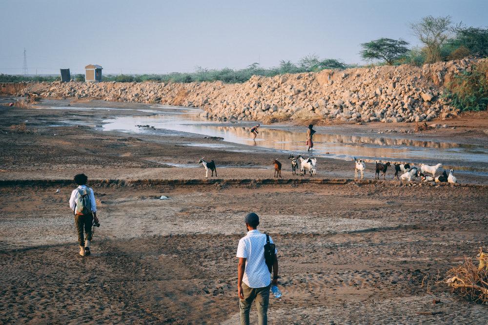 Filming in Afar, Ethiopia.                                                                                Pg.26 of Photobook(Coming soon!)