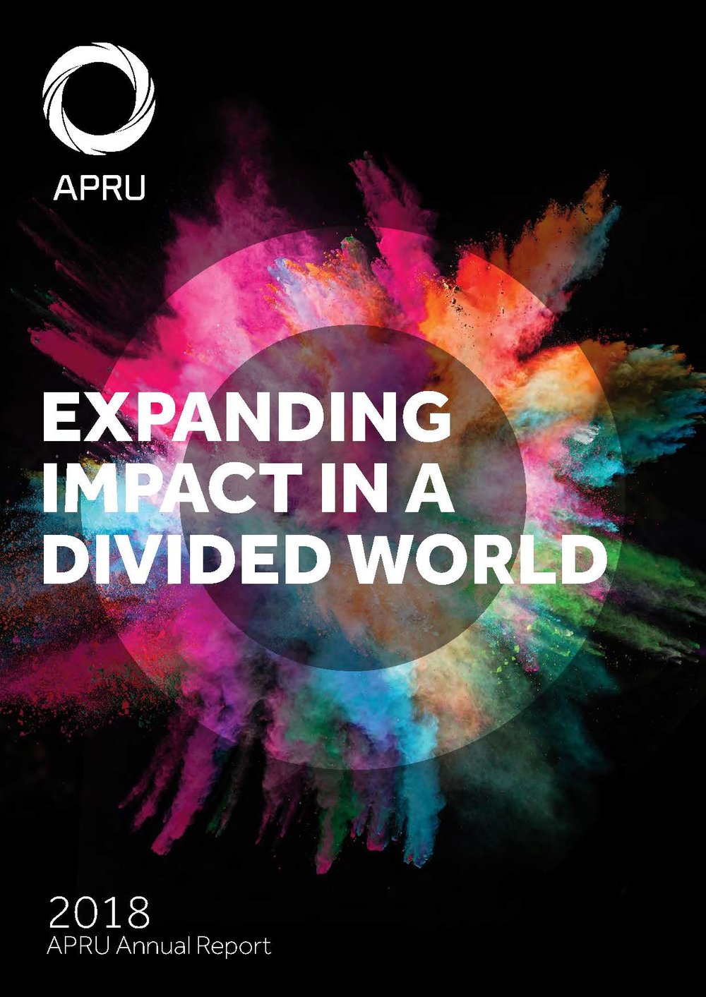 SEE WHAT WE HAVE BEEN UP TO - APRU 2018 Annual Report
