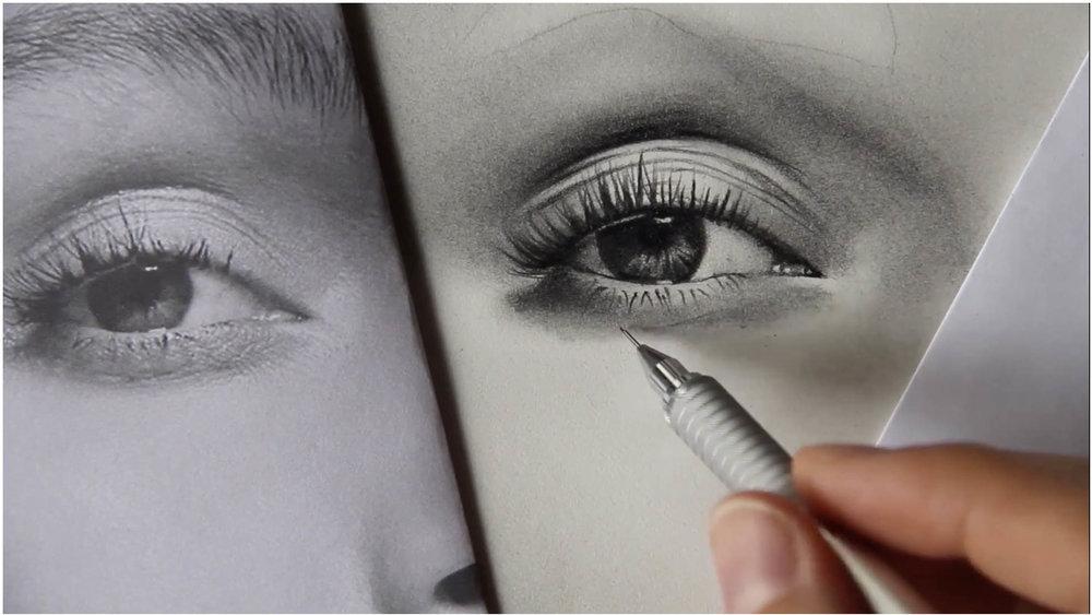 portrait illustration drawing art