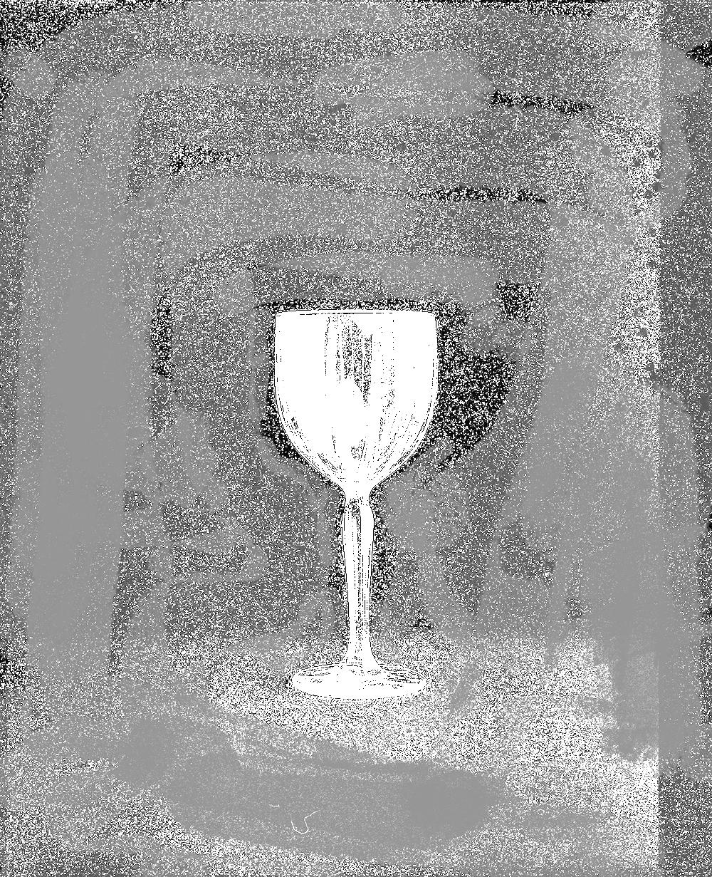 Copy of Crystal Glass on Black