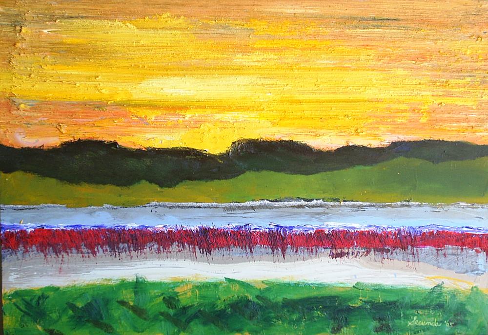 Landscape by Arthur Secunda