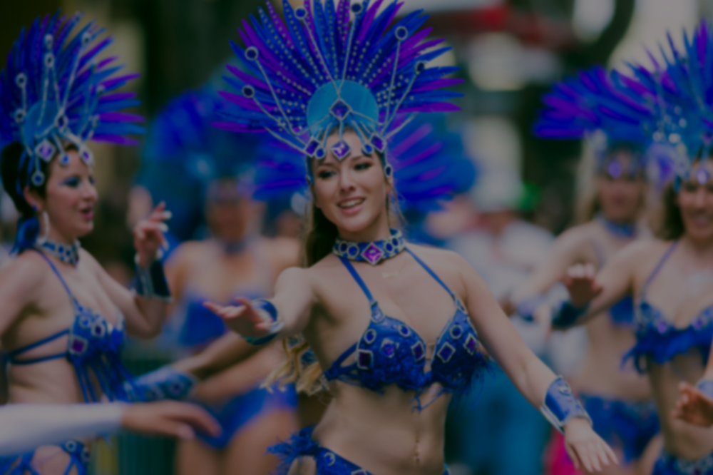 - Aquarela Samba Dancers want to create a dazzling celebration just for you. Let this award-winning, professional dance group customize the perfect show to fit your event.
