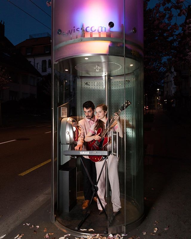Did you know that Swiss public phones are free to use? All national calls will cost you nothing.  Just like our two gigs this week:  1) 13 March 20:30 @teatro_palino in Baden 2) 16 March at midnight @molo_bar_luzern in Lucerne