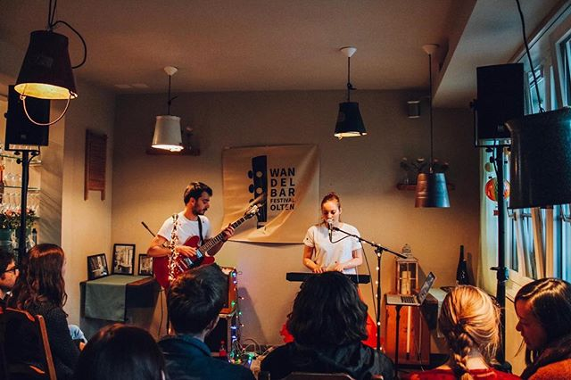 Thanks @wandelbarfestival & @restaurant_stadtbad for the invite - now we know where the cool kids hang out in Olten! Foto: @levanazana