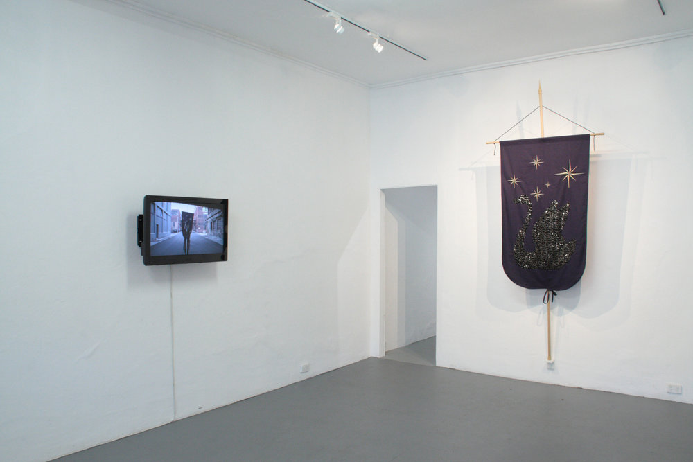 The Black Swan: Suite, 2014   Installation view, FELTspace, 2014