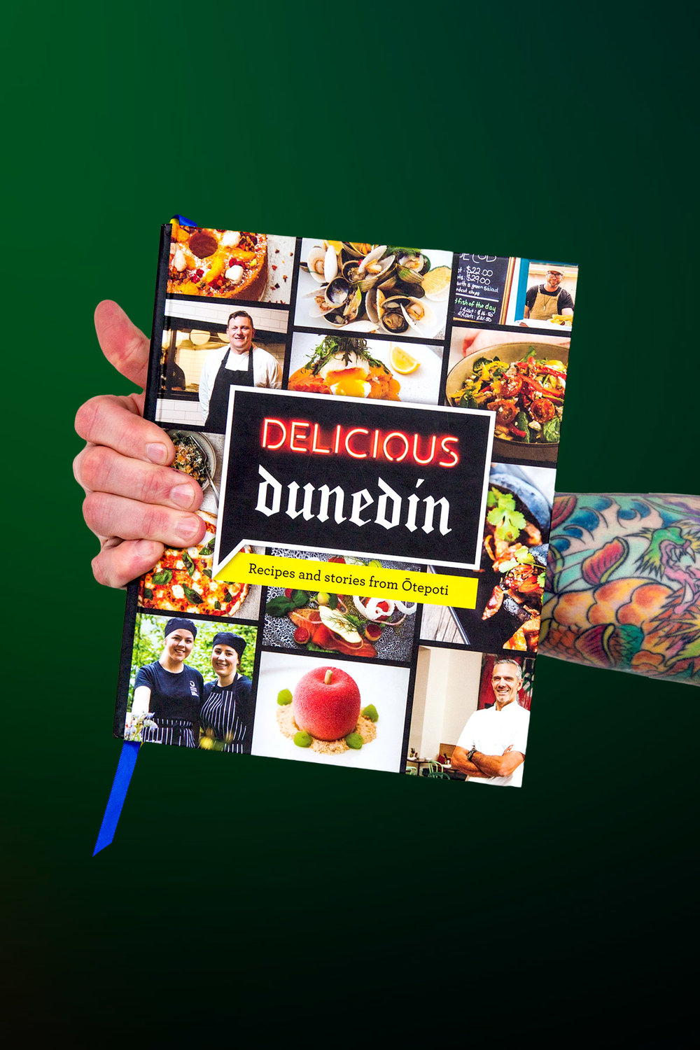 Delicious Dunedin - With more than 90 recipes, great food anecdotes from the people of Dunedin and stunning food photography by New Zealand's leading food photographer Kelly Lindsay, Delicious Dunedin is your essential guide to the culinary treasure trove of the city and the perfect gift for every New Zealander and visitor to our beautiful city.Buy this book online.(Published August 2018)