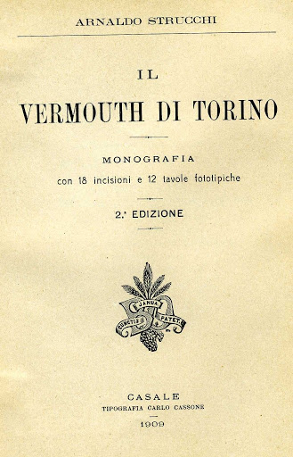 """""""Il Vermouth di Torino""""  by Arnaldo Strucchi, 1909 : """"[translated]  In the United States there is a popular habit of drinking liquor mixed with Vermouth, Bitters and Gin (or whiskey) to form a drink called a 'cocktail'."""""""