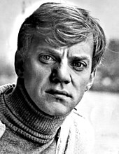 A young Malcolm McDowell in the 1960's