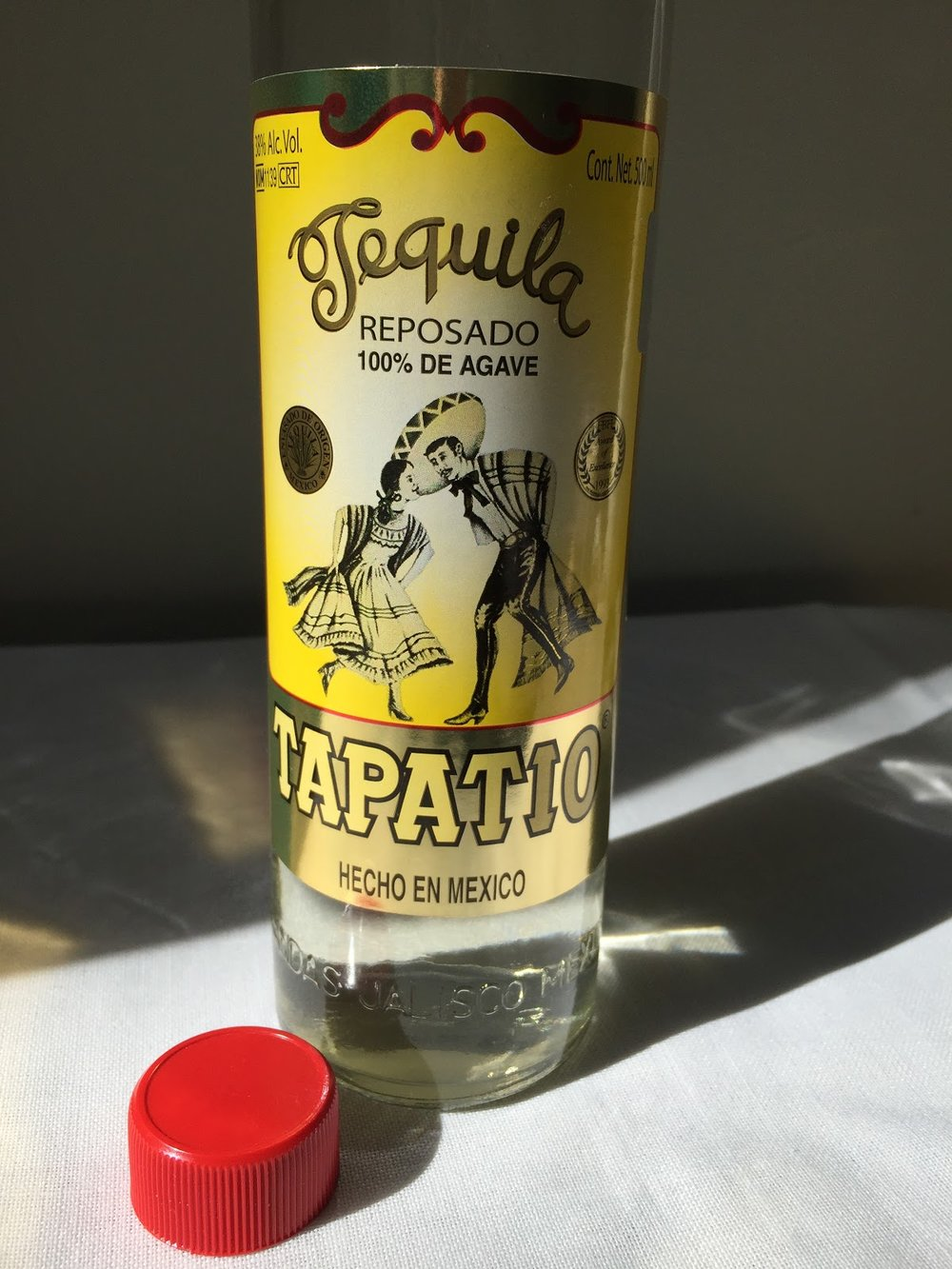 Tapatio, 100% agave tequila