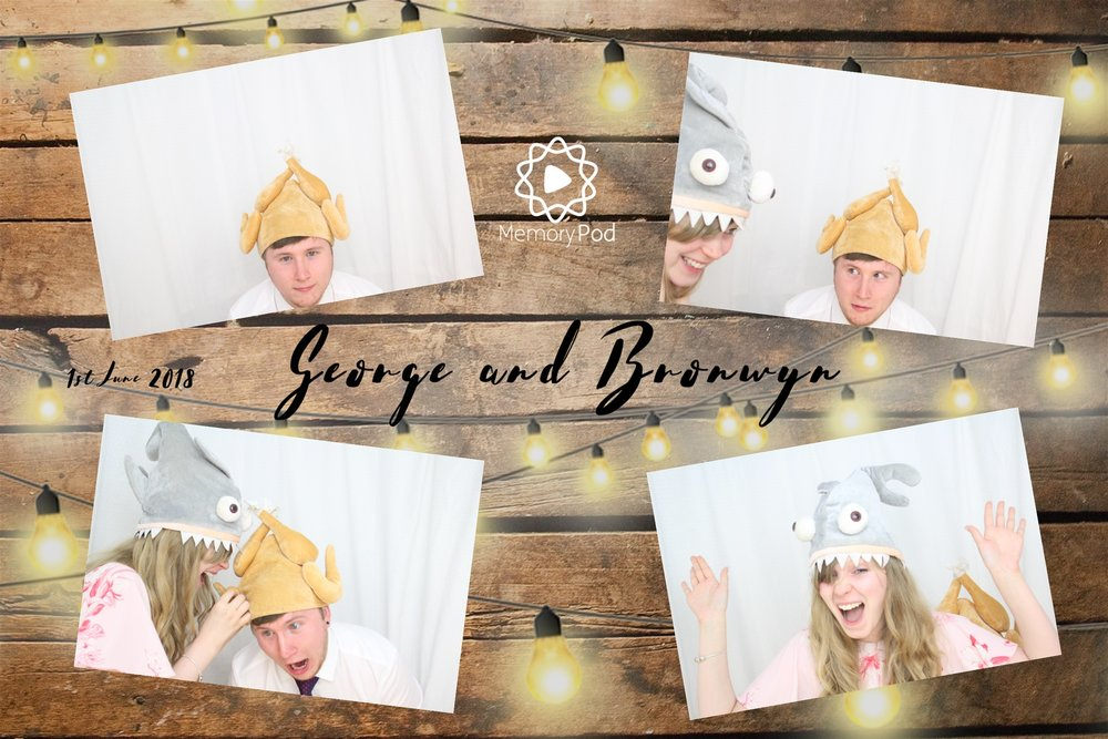 Private Photo Booth Hire Event - George and Bronwyn party