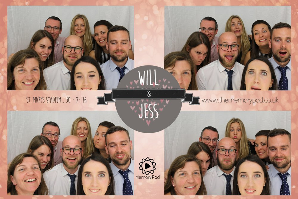 Private Photo Booth Hire Event – Will and Jess