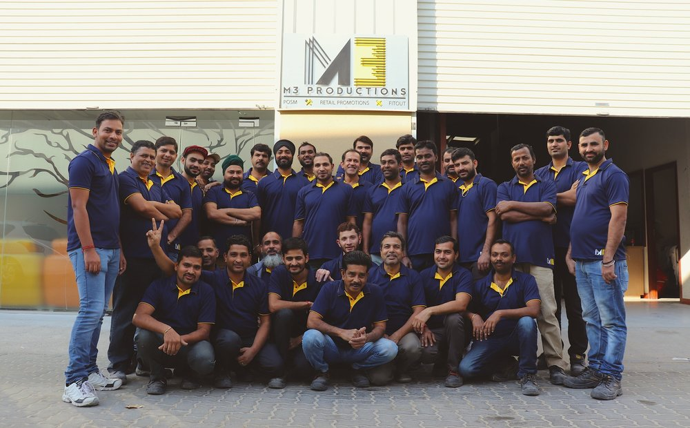 M3 Productions team