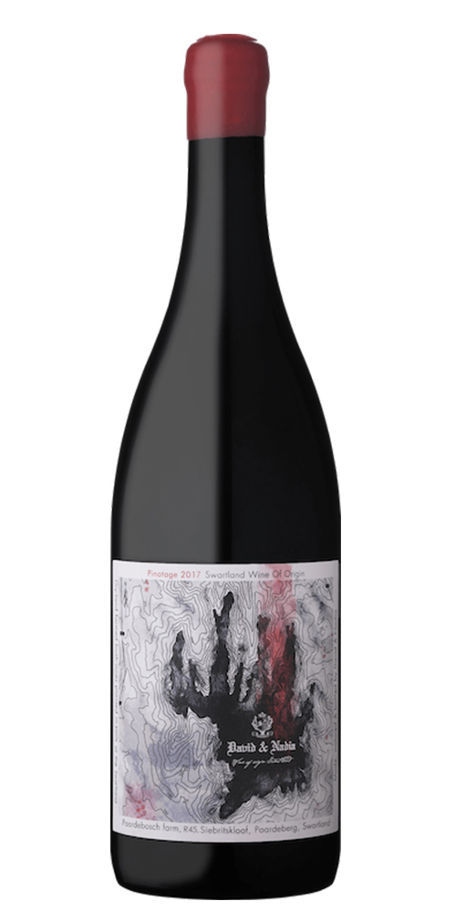 TOPOGRAPHY RANGE PINOTAGE     TECH SHEET 2016       LABEL