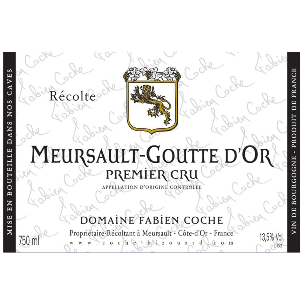 MEURSAULT-GOUTTE D'OR 1ER CRU     TECH SHEET